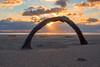 Circle in the sand (Neil Sherwood Photography) Tags: merseyside seaside sand landscape sigma formby sunset nikon beach
