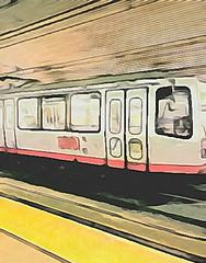 (sftrajan) Tags: munimetro foresthillstation edited camart muni streetcar lrv metro tunnel platform masstransit sanfrancisco 2017 subway lightrail