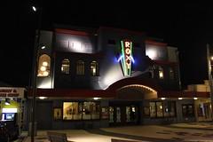 Roxy Cinema (neil.bather@xtra.co.nz) Tags: roxy cinema miramar wellington new zealand night weta peter jackson