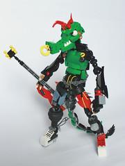 Death from the Trend (Arkov.) Tags: lego bionicle crocodile punk grunge bass bassist bands florida definitelyfakebands