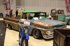 Unknown pickup (JoRoSm) Tags: nec classic car show 2017 canon eos 500d slr footman james pickup ratlook
