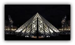 Série Pyramide du Louvre : N° 4 (jldum) Tags: paris pyramide louvre architecture architect architecte lines batiment building hdr black white monochrome apple iphone iphone7plus explore
