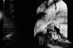 In Silence We Yearn (Sergi Escribano) Tags: kodaktmax kodak nikonfm2 filmisnotdead analogue sergiescribano streetsofbarcelona barcelonastreetphotography barcelona mercatdesantjoseplaboqueria nikon documentaryphotography analoguephotography analog analoguefilmproject shootfilm shadow sergiescribanophotography dark dreams lightdarkness light loneliness blackandwhite blancoynegro monochrome monocromático filmsnotdead film