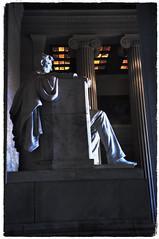 Washington  DC ~  The Lincoln Memorial (Onasill ~ Bill Badzo - 56 Million Views - Thank Yo) Tags: washington dc lincoln memorial american usa travel tourist onasill national monument abe abraham president architect henry bacon danielchester nrhp historic slavery attractionsite light old vintage photo