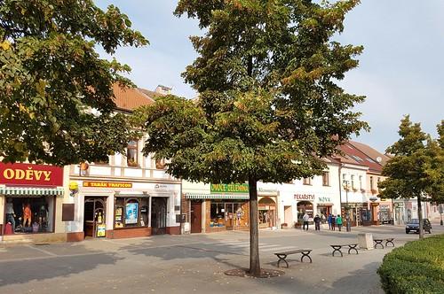 Benesov Hauptplatz