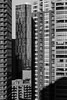 Claustrophobia (Brinkervelt.) Tags: chicago city urban blackandwhite blackwhite bw monochrome light shadow cmwd cmwdblackandwhite noiretblanc windows balconies