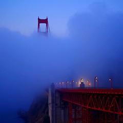 morning blue (sculptorli) Tags: morning blue goldengate marin california unitedstates morningblue golden goldengatebridge bridge niebla brouillard 雾 туман калифорния 加州 旧金山 早晨蓝 fog pont 桥 мост most brücke nebel синий 蓝 蓝雾 blauernebel