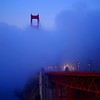 morning blue (sculptorli) Tags: morning blue goldengate marin california unitedstates morningblue golden goldengatebridge bridge niebla brouillard 雾 туман калифорния 加州 旧金山 早晨蓝 fog pont 桥 мост most brücke nebel синий 蓝 蓝雾 blauernebel