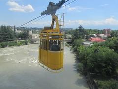 Kabelbaan Koetaisi (LeoKoolhoven) Tags: 2013 georgië georgia kutaisi koetaisi kabelbaan cablecar