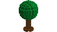 Lowell Sphere Tree (RS 1990) Tags: lowell sphere tree lego ldd digitaldesigner oc brucelowell