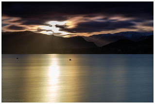 Ullswater sunset.