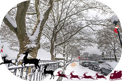 The Magic of Christmas never..............  end.‼️ (Xacobeo4) Tags: firstsnowydaydic92017 merry christmas all hamilton park weehawken