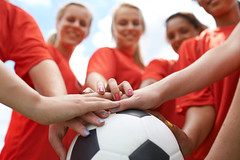 475390869 (evolutionlabs) Tags: closeto adolescence teenagersonly trackandfieldathlete goodsportsmanship posing soccerball portrait soccerfield youngwomen female groupofpeople copyspace sportstraining huddle sportsclothing lookingdown cute youngadult 1819years teenager smiling looking playing exercising caucasian multiethnicgroup ethnicity vitality preparation bonding unity togetherness enjoyment happiness partof sport lifestyles selectivefocus outdoors lookingatcamera closeup lowangleview cheerful expressingpositivity soccer humanhand sportsteam people playingfield ball sportsequipment uniform attractivefemale team matchsport