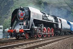 Elisabeth (tamson66) Tags: locomotive steam vintage škoda 475179 oldtimer 1948 railway railroad train trainspotting