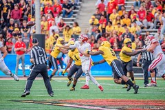 _DSC6858 (hillels) Tags: collegepark college football maryland umd universityofmaryland terps terpnation indiana october 2017 hoosiers 125th anniversary university sports fall terrapins sport game bigten capitalonefield byrdstadium people athlete athletics djdurkin durkin goterps coach