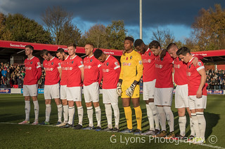 Salford City Rememberance Sunday Minutes' Silence-1192