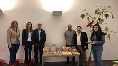 Entrega Livros Biblioteca Manuel Alegre