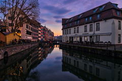 Sunset in Strasbourg (Jim Nix / Nomadic Pursuits) Tags: 2470mm aurorahdr2018 europe france germanic hdr jimnix luminar macphun nomadicpursuits paris sony sonya7ii strasbourg architecture culture highdynamicrange history landmark sunset travel twilight