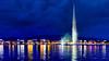 Geneva by NIght (jay_kilifi) Tags: geneva switzerland jet fountain night air lake lights city cityscape reflections clouds blue rx100m3 sony longexposure swiss jetdeau illuminated genèvetourisme villedegenève