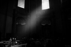 SpiRiT (MonieHoleva) Tags: blackandwhite monochrome rome italy vatican basilica di san pietro vaticano sanpietro architecture history magiclight goldenhour sunflare window light shadow geniusloci moment feel spirit place cathedral travel reportage nikon d3200 photographer photography people interior