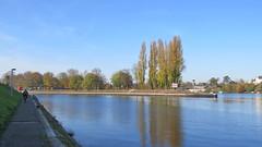 Hafen Birsfelden, 1.11.17 (ritsch48) Tags: birsfelden basellandschaft rhein hafen schleuse bermenweg