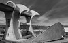 Falkirk Wheel (creyala) Tags: scotland falkirk wheel blackandwhite technology bw wonder boats canal union firth clyde nikon d7000