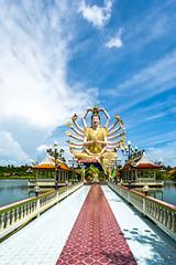 Statue der Guanyin (BBQMaster_CGN) Tags: thailand samui kohsamui koh thai statue religion tempel temple tempelanlage guanyin der nuan na ram