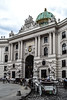 Entrance to the Hofburg - Vienna (-MikeBakker-) Tags: wien vienna österreich austria europa europe travel traveling traveler travelling traveller nikon nikond3100 d3100 architecture city downtown innerestadt white light colour colours historic place hofburg building buildings street streets streetphotography palace habsburg cloudy grey sky clouds summer day square people wagon wagons horse horses gate entrance baroque style urban urbanexploration explore exploration
