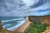 Twelve Apostles (Daniel J. Mueller) Tags: twelveapostles 12apostles victoria australia coast rock rocks beach sand clouds hdr wideangle sea waves
