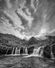 Reaching for the Sky, Fairy Pools (John J Buckley) Tags: autumn landscape skye isle cuillinmountains bw scotland fiarypools waterfalls glenbrittle