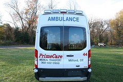 Delaware ambulance (CasketCoach) Tags: ambulance ambulancia ambulanz ambulans rettungswagen krankenwagen paramedic ems emt emergencymedicalservice firefighter fordtransit