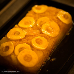 334/365 - Cake! (phil wood photo) Tags: 2017 2017photofun 365 85mm apple cake day334 food homemade pear sponge square yummy wonderfulwife