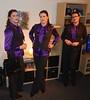 Clones (Rikky_Satin) Tags: purple silk satin pussy bow blouse pants suit vest office fashion crossdresser transformation tgirl tgurl gurl sissy secretary