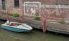 If everybody had a pony (Jorden Esser (on a break)) Tags: wednesday boardwalk boat chalk fence motorboat text wall walldrawing wallwednesday water hww