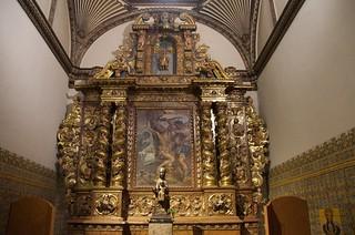 Capella de Sant Bartomeu, s. XVII, Barroc. Monestir de Sant Cugat, Barcelona.