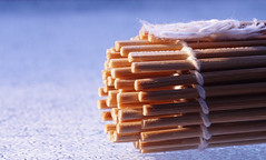 Bamboo (Elisafox22 A bit ON/OFF at the moment!) Tags: elisafox22 sony ilca77m2 100mmf28 macro macrolens telemacro stick hmm macromondays bamboo sushimat sushi bamboomat light dof tabletop indoors elisaliddell©2017 macrodreams