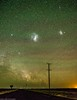 december night sky (andrew.walker28) Tags: magellanicclouds carina nebula milky way stars starlight airglow green red
