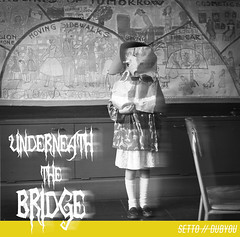 Underneath the Bridge (ksaundersphotography) Tags: graphicdesign art vintage edit music albumcover motion text