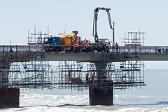 20171109_9534_7D2-190 Pier repairs (johnstewartnz) Tags: pier newbrighton newbrightonpier newbrightonbeach pierrepairs alliedconcrete mixers concretemixers concretepumper canon canonapsc apsc eos 7d2 7dmarkii 7d canon7dmarkii canoneos7dmkii 70200mm 70200 70200f28 100canon unlimitedphotos yabbadabbadoo yabbadabadoo