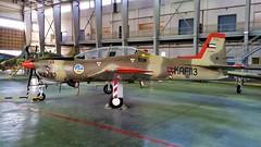 Tucano Mk-52 KAF113 ex 19Sq Kuwait-AF/ KAF. Stored, Ali Al Salem Air-Base, Kuwait. 2016. (Aircraft throughout the years) Tags: shorts tucano mk52 kaf113 ex 19sq kuwaitaf kaf stored ali al salem airbase ab kuwait 2016 113