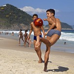Footvolley at Leme beach thumbnail