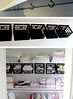 Some dollar store plastic mini-crates, some hooks under the top shelf and instantly a whole world of organizing possibilities opens up (Home Decor and Fashion) Tags: dollar hooks instantly minicrates opens organizing plastic possibilities shelf some store top under up whole world