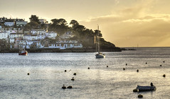 Polruan and Fowey Harbour, Cornwall (Baz Richardson (now away until 26 Oct)) Tags: cornwall polruan cornishharbours riverfowey yachts villages