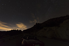 Road to Mt Lemmon (2) (J F Wolford) Tags: mountains driving tucson arizona night nightscape starrynight