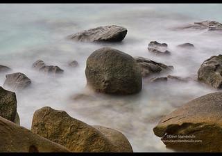 Long exposure at high tide, Mergui Archipelago, Myanmar