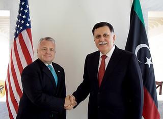 Deputy Secretary Sullivan Meets With Libyan Prime Minister al-Sarraj