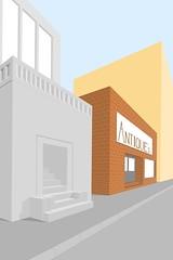 Buildings in progress 2 ((Jokke)) Tags: drawing pad apple buildings applepencil ipad ipadpro procreate procreateapp