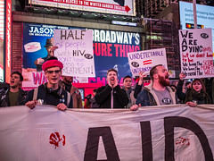 4N3A5538 (WorkingFamiliesParty) Tags: actupnewyork act up newyork ny protest hiv aids timessquare action community decriminalize international problem people united