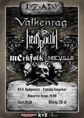 Dziady: Valkenrag, Hellspawn, Merkfolk, Nerville (04.11.2017 - Bydgoszcz, Poland)