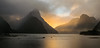 Milford Sound (tehroester) Tags: new zealand milford sound landscape sunset light orange mood mountains sea nikon d3300 world trip travel nature hike amateur beginner scenery colour feedback
